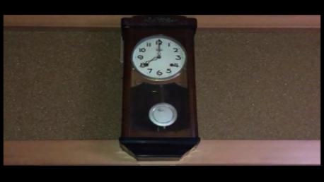 屋内の氣の分布である宅運盤(飛星チャート)の二黒と五黄の化煞(ぼんぼん時計編)