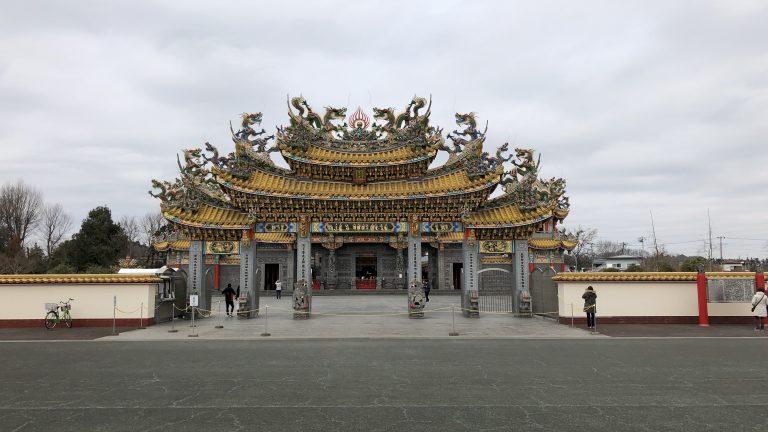 ケロケロウメサンの風水探訪 五千頭の龍が昇る『聖天宮』