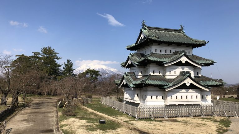 弘前城を風水学的に考察